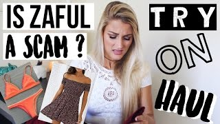 Download Is Zaful a SCAM? HAUL + TRY-ON Video