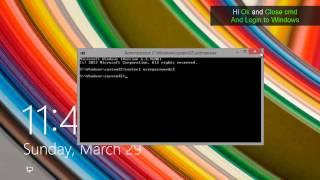 Download Reset Windows 8 , 8.1 Password - How to Reset /Recover Forgotten Windows Password Video