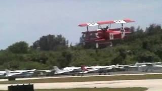 Download Severe Crosswind landings in Fokker replica triplane. Video