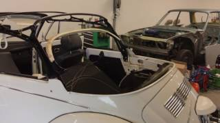 Download VW Super Beetle convertible soft top installation 1303 Video