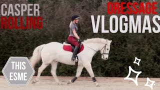Download Vlogmas | Dressage and Casper rolling A LOT! | This Esme Video