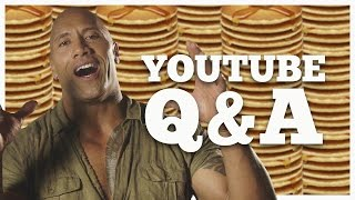 Download The Rock Answers Questions From YouTubers! Seven Bucks October Q&A Video