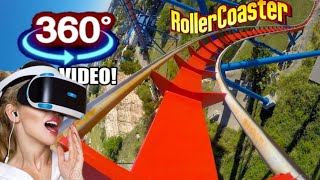 Download Great American 360° Coaster VR Simulator & Freefall Tower 360 VR Video 4K 60fps Video