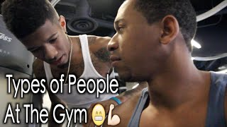 Download Types Of People At The Gym Video
