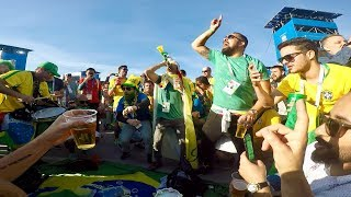 Download Os fãs do Brasil na Rússia 2018 Fans of Brazil in Russia World Cup 2018 Video