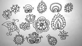 Download Vẽ hoa lá cách điệu lớp 7 - họa tiết cách điệu Video