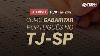 Download Como Gabaritar Português no TJ-SP 2018 - Priscila Ferraroto Video