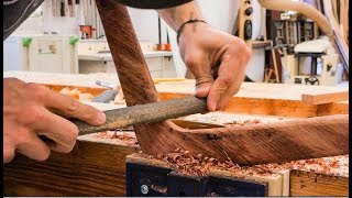 Download Carving A Boomerang From Brazilian Ipe Video
