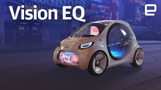 Download Mercedes Smart Vision EQ fortwo hands-on at CES 2018 Video