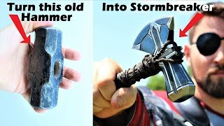Download I Turn An Old Hamster Into Stormbreaker From Infinity War! Video