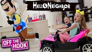 Download Pranking Hello Neighbor in Real Life!! Off the Hook Toy Scavenger Hunt! Video