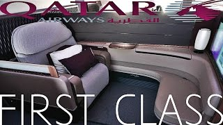 Download QATAR AIRWAYS FIRST CLASS REVIEW|DOH-CDG|A380 Video