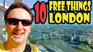Download 10 Best Free Things to Do in London Video