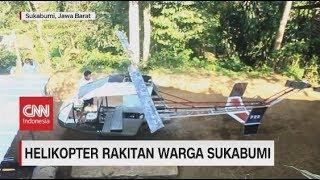 Download Melihat Helikopter Rakitan Warga Sukabumi Bermesin Genset Video