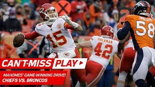 Download Patrick Mahomes Leads Game-Winning Drive vs. Denver! | Can't-Miss Play | NFL Wk 17 Video