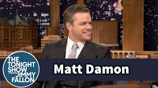 Download Matt Damon Used to Fly Trump Air to Get to NYC Auditions Video
