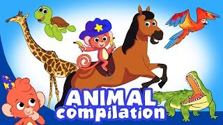 Download Learn Animals for Kids   Animal videos Compilation for Children   Club Baboo Video