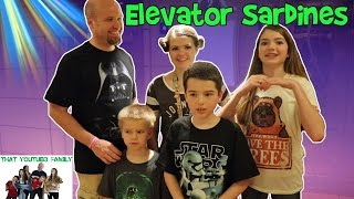 Download Crazy Elevator Sardines - Hide and Seek / That YouTub3 Family Video