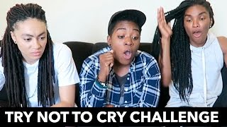 Download TRY NOT TO CRY CHALLENGE ft. AmbersCloset & Ari Fitz Video