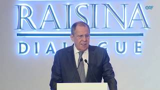 Download Sergey Lavrov, Foreign Minister of Russia, at Raisina Dialogue 2020 Video