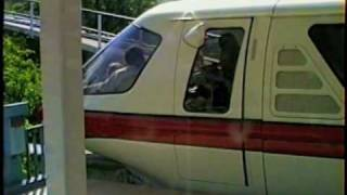 Download Disneyland-Monorail.Sept. 1990. The Whole Ride Video