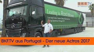 Download Actros 2017 - 20 Jahre Edition - Leading in Road Efficiency Video
