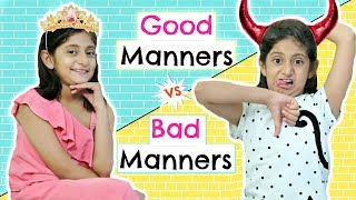 Download Good Manners Vs Bad Manners FT. ShrutiArjunAnand | #Roleplay #Fun #Sketch #MyMissAnand Video