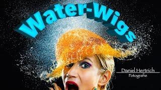 Download Highspeed-Fotografie: Water-Wigs Shooting Feb. 2016 #danielhertrichfoto Video