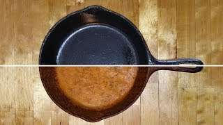 Download Cast Iron Restoration, Seasoning, Cleaning & Cooking. Cast Iron skillets, griddles and pots. Video