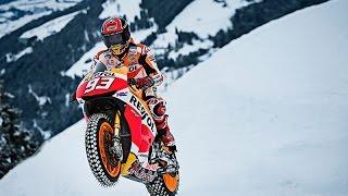 Download Marquez rides RC213V at Kitzbühel Video