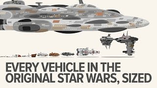 Download Every original Star Wars trilogy vehicle to scale Video