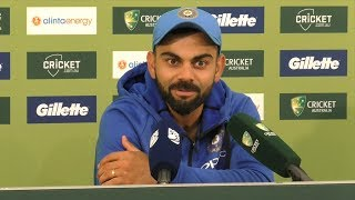 Download Dhoni at No. 5 is the most logical and ideal thing, both for him and team - Kohli Video
