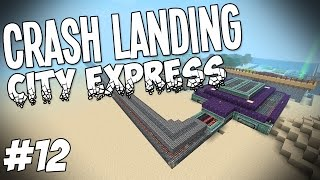 Download Crash Landing - Minecraft HQM - City Express #12 Video