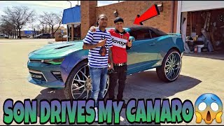 Download SON DRIVES MY CAMARO ON 32S I WAS NERVOUS Video