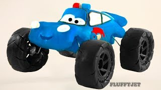 Download Cars 3 Lightning McQueen PAW PATROL Play Doh Stop Motion video Disney Pixar Cars Toys kids play time Video