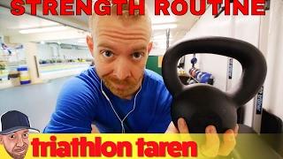 Download 15 Minute Triathlon Training Strength Routine Video