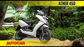 Download Ather 450 | First Ride Review | Autocar India Video