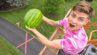 Download DROPPING WATERMELON 45FT!! Video
