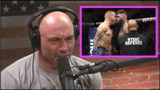 Download Joe Rogan Reacts to TJ Dillashaw KO'ing Cody Garbrandt Video
