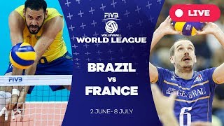 Download Brazil v France - Group 1: 2017 FIVB Volleyball World League Video