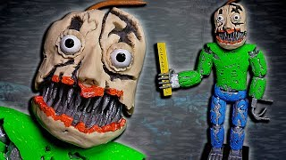 Download Making NIGHTMARE BALDI ➤ Polymer clay Tutorial ★ Baldi's Basics in Nightmares Video