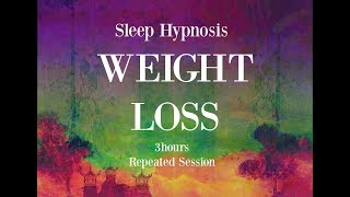 Download 😴 3 hours repeated loop ~ Sleep hypnosis for weight loss with mindful awareness ~ Female Voice Video