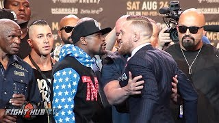 Download THE COMPLETE FLOYD MAYWEATHER VS CONOR MCGREGOR LOS ANGELES PRESS CONFERENCE VIDEO Video