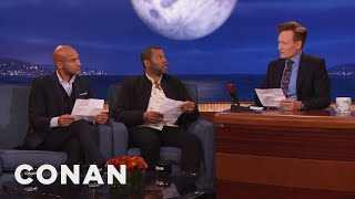 Download Keegan-Michael Key, Jordan Peele & Conan Reenact A Scene From ″Keanu″ - CONAN on TBS Video