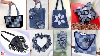 Download Old Jeans Reuse Craft Ideas !!! DIY Old Clothes    Best Out of Waste Video