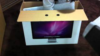 Download Unboxing 27 inch Apple LED Display Video