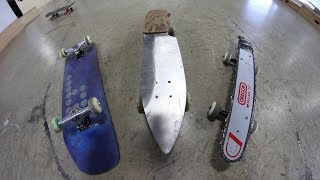 Download THE MOST DANGEROUS SKATEBOARDS | YOU MAKE IT WE SKATE IT EP 191 Video