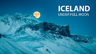 Download Iceland under Full Moon Video