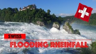 Download Hochwasser am Rheinfall 2016 [4K] Video