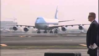 Download Arrival of US President Barack Obama 4/28/2014 Video